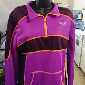 Vintage Fila Womans Pullover
